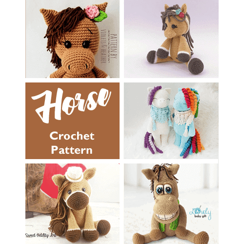 Heidi the Horse | Recipe (With images) | Crochet patterns ... | 500x500