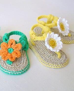 baby sandals crochet patterns - crochet pattern pdf - baby shoes crochet patterns amorecraftylife.com #baby #crochet #crochetpattern