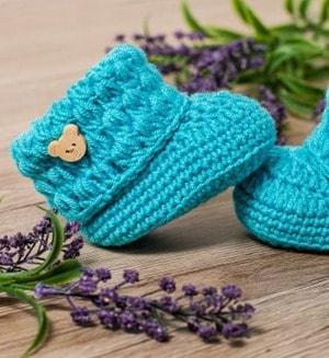 baby shoes crochet patterns - baby booties - baby gift - crochet pattern pdf - amorecraftylife.com #crochet #crochetpattern #baby