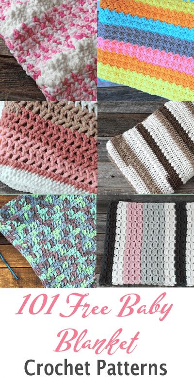 101 free babies' blanket crochet pattern - baby lovey - baby cocoon - amorecraftylife.com #baby #crochet #crochetpattern #freecrochetpattern