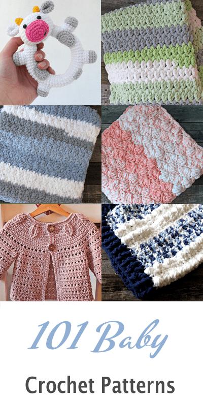 baby blanket crochet pattern -crochet baby blanket pattern -amorecraftylife.com #crochet #crochetpattern