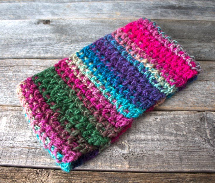 Make a winter headband pattern. Stained Glass Ear Warmer Headband Crochet Pattern Free PDF- printable pdf - winter headband - amorecraftylife.com Red Heart Unforgettable Yarn #crochet #crochetpattern #freecrochetpattern