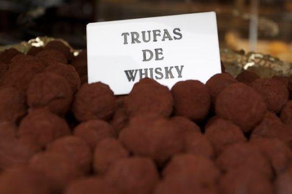 trufas de whisky