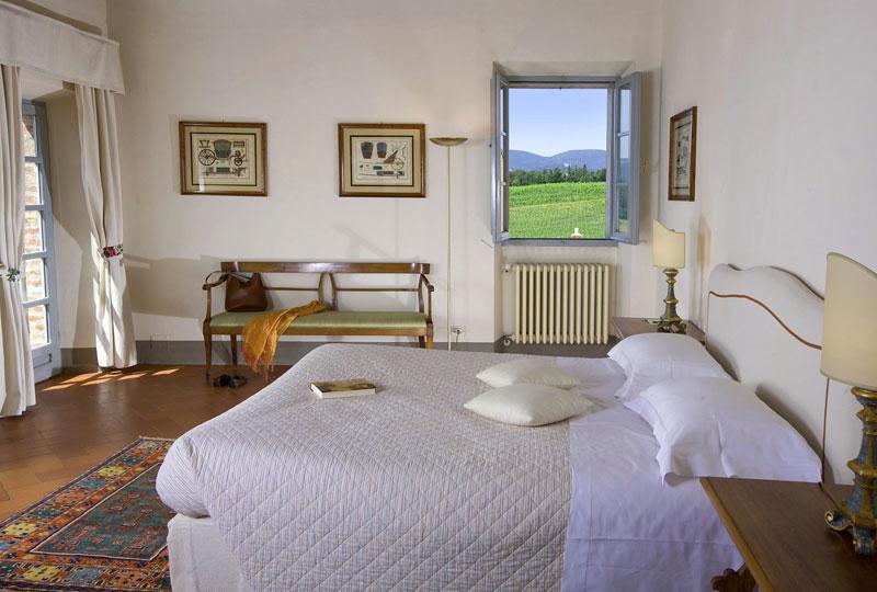 Camere e Suite con vista sulla campagna toscana  Amorosa Sinalunga