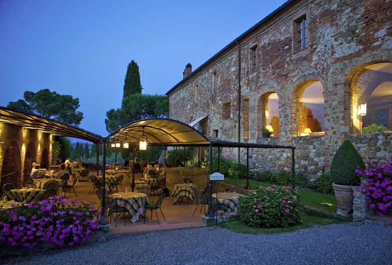 LAmorosa country restaurant Tuscany  Siena