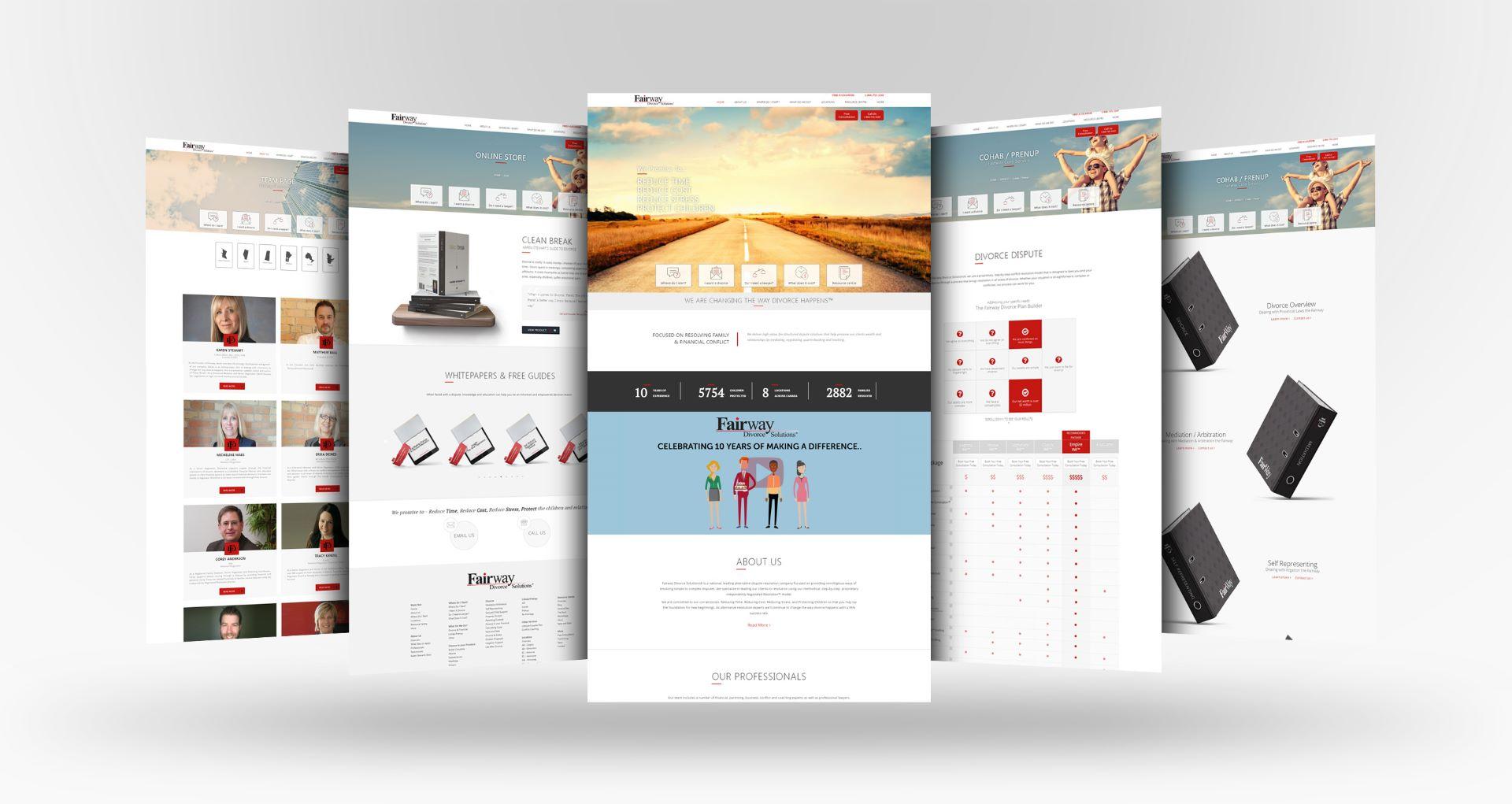 amortech web design fairway
