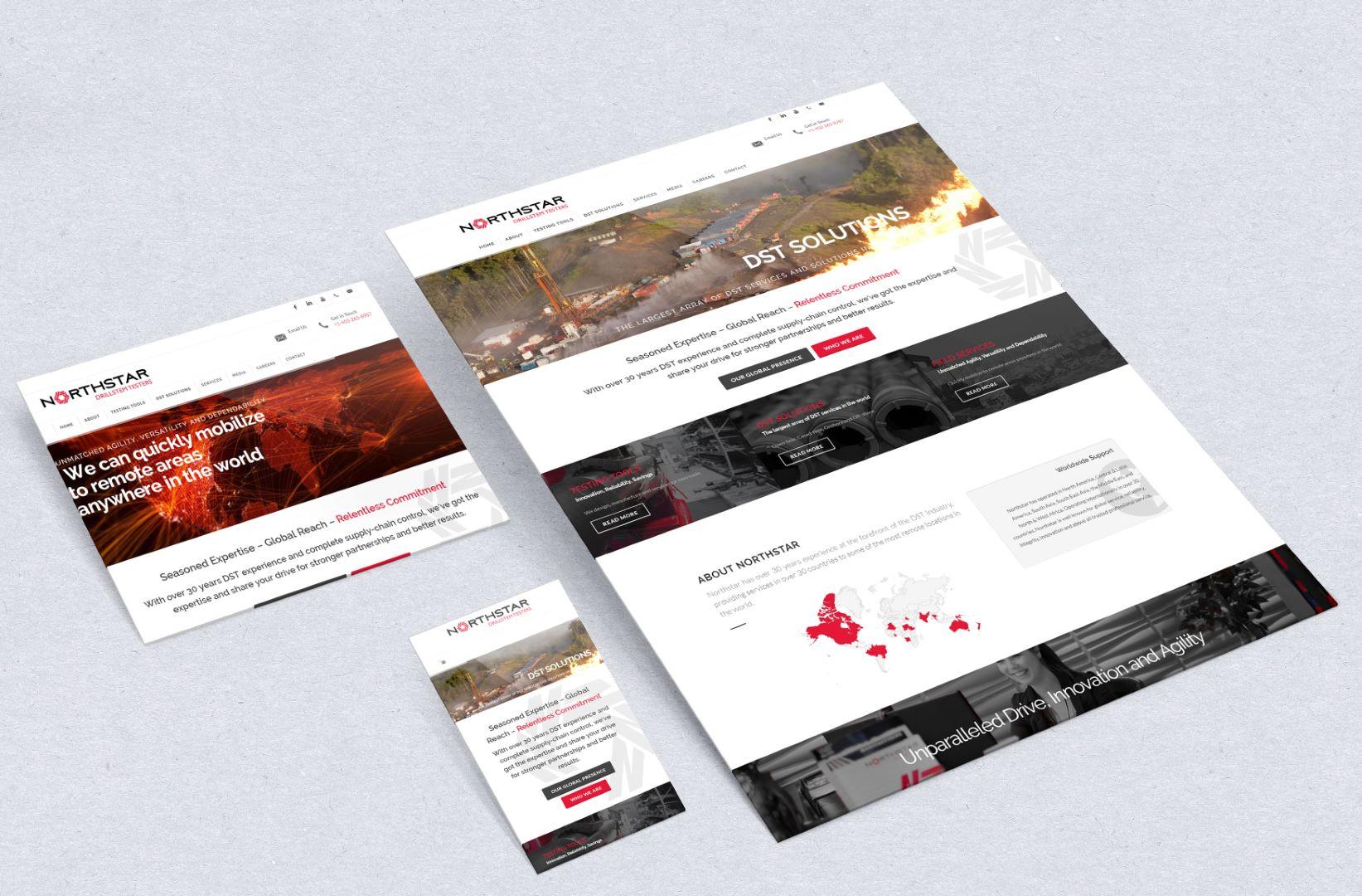 amortech web design northstar