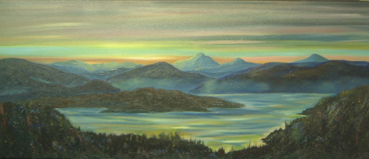 Skye Sunset - Oils - SOLD