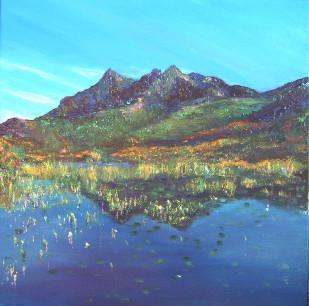 Sgurr Nan Gillean - Acrylics
