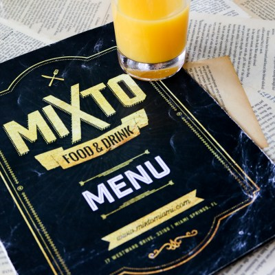 MIXTO Food & Drink: Back to School Brunch