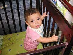 baby crib co-sleeping dangerous