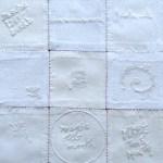 niddah artwork with small white cloths sa