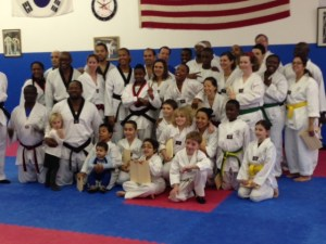 The Taekwondo Team