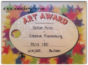 film making award