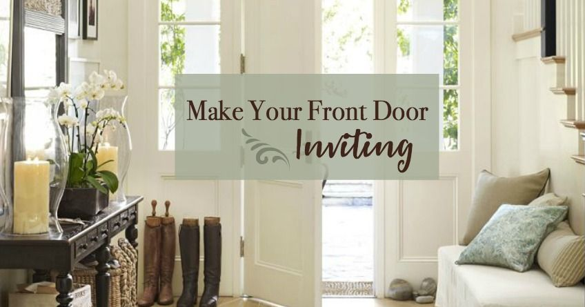 How To Make Your Front Door Inviting