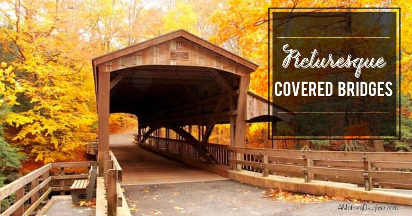 Pretty Covered Bridges in the U.S.