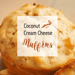 Moist Cream Cheese Coconut Muffins [Recipe] 1