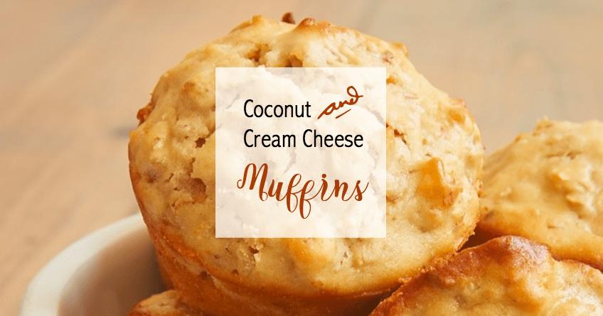 Moist Cream Cheese Coconut Muffins [Recipe] 1