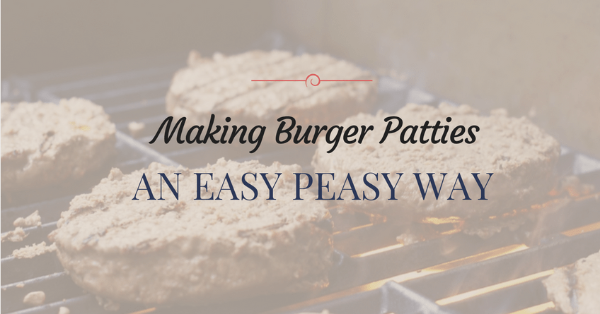 How to Make Hamburger Patties Using a Quick and Easy Way