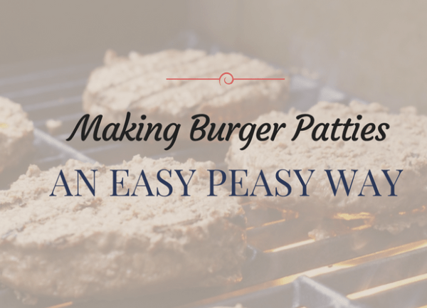 How to Make Hamburger Patties Using a Quick and Easy Way 1