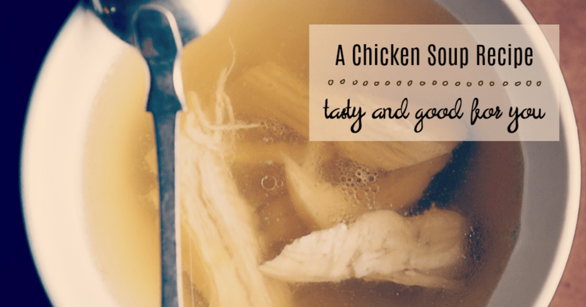 Ginger Chicken Soup: Light and Nourishing [Recipe] 1