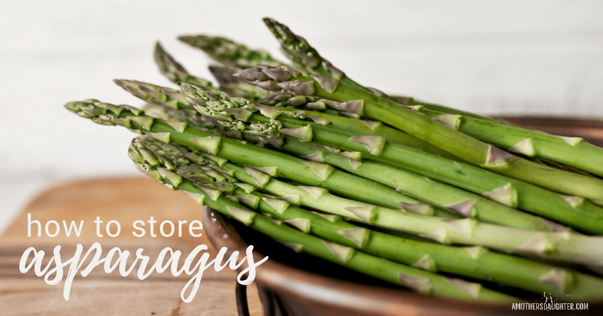 How to Store Asparagus for Weeks [Video]