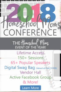 2018 Homeschool Mom event of the year
