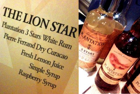 rum plantation lion star