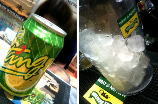 Rumfest 2013 Wray and Ting and ice