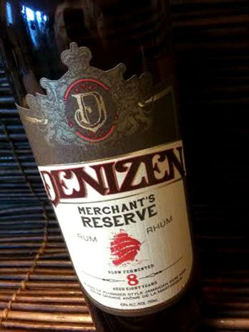 Denizen Merchants Reserve Rum