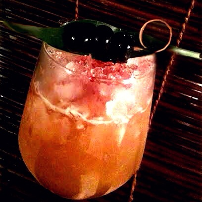Three Dots and a Dash with Rougaroux rum and Clement VSOP