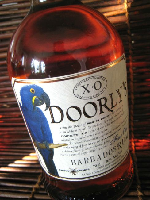 Doorly`s XO bottle