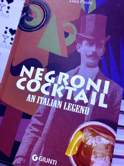 Negroni cocktail book