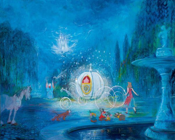 Harrison Ellenshaw Disney Art