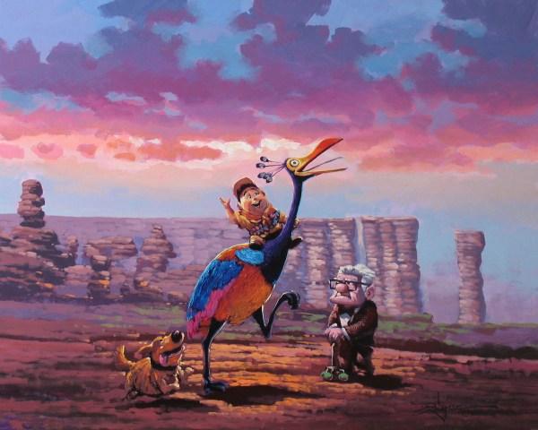 Rodel Gonzalez Disney Art Original Fun