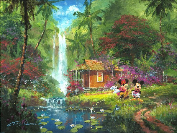 James Coleman Art Disney Warm Aloha Ap In Stock