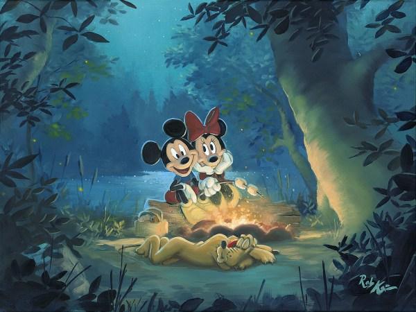 Rob Kaz Art Disney Fine Family Camp