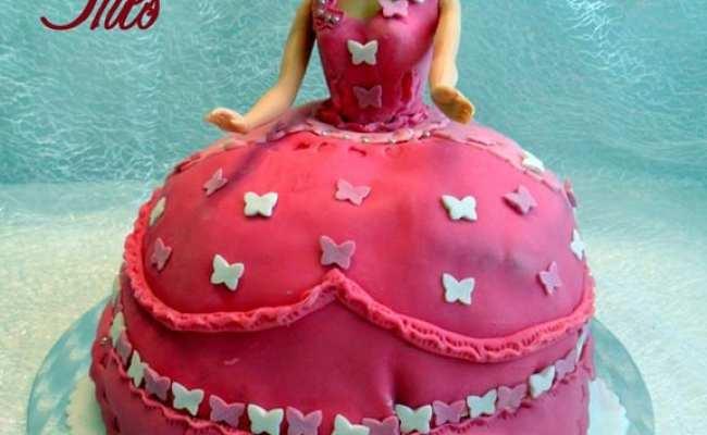 Princesse Barbie Gateau D Anniversaire Amour De Cuisine