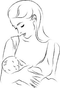 position madone allaitement