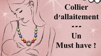 collier d'allaitement conseil