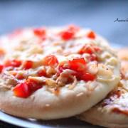 pizza broodjes