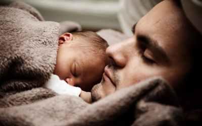 Vending af baby med moxa