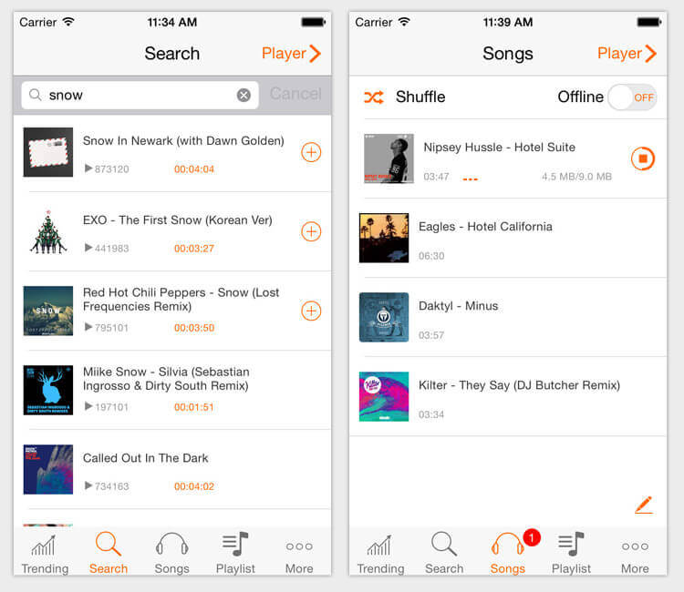 Free Music Apps for iPhone and Android