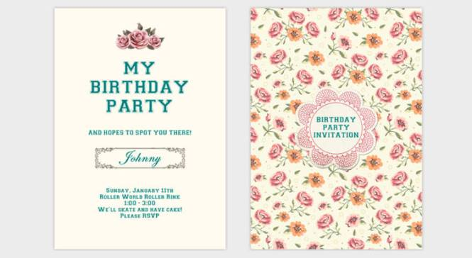 How To Make Birthday Invitation Card