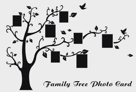 A Guide on Family Tree Photo Card Making