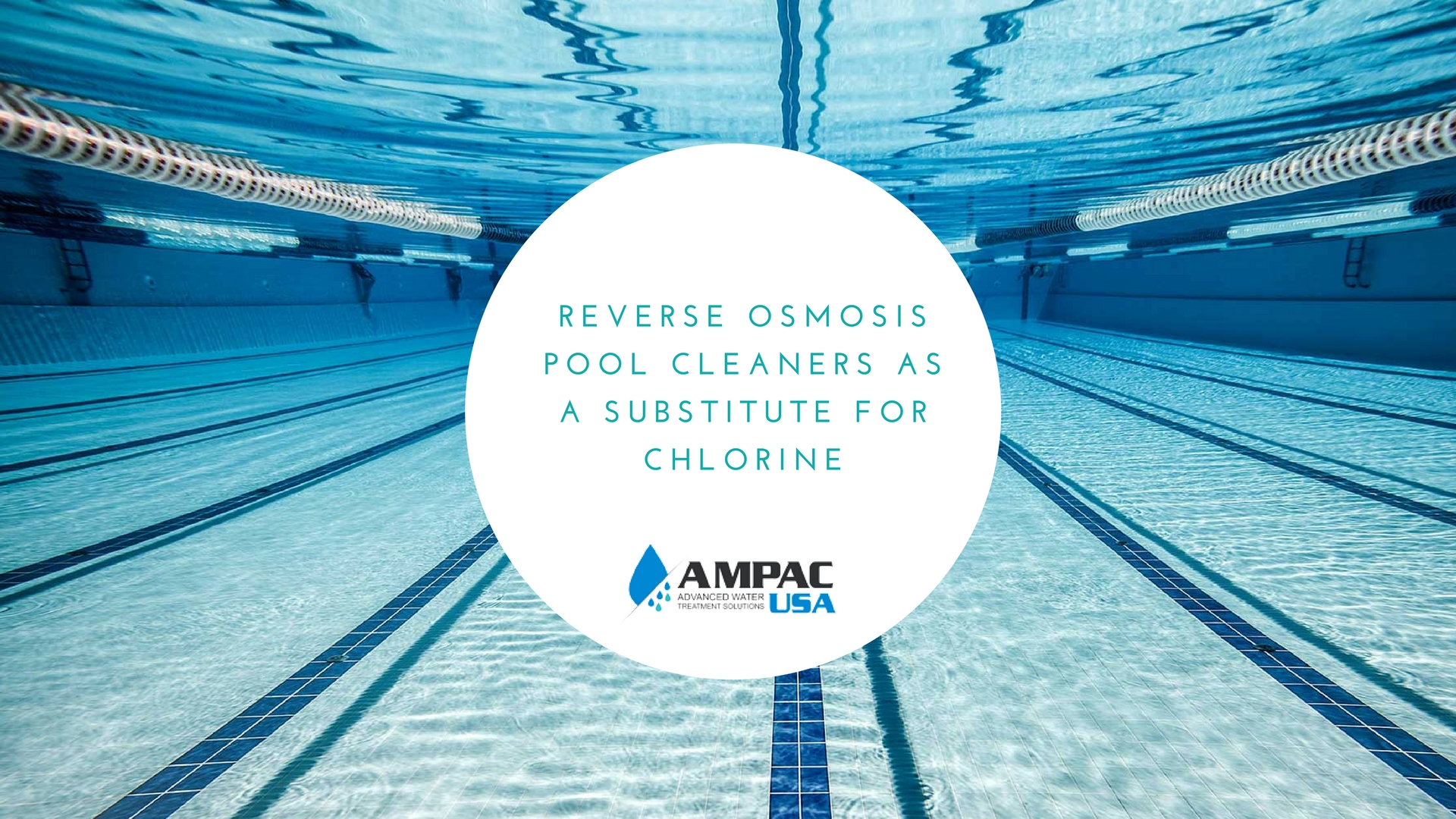 Reverse Osmosis Pool cleaners as a substitute for chlorine