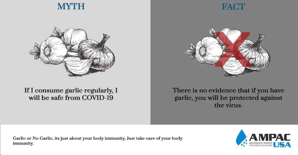 If I consume garlic regularly, I will be safe from COVID-19