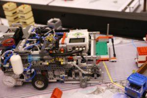 El robot de Lego Mindstorn EV3