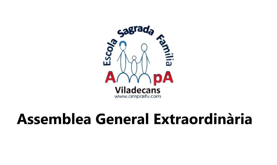 Assemblea General Extraordinària 2019/20