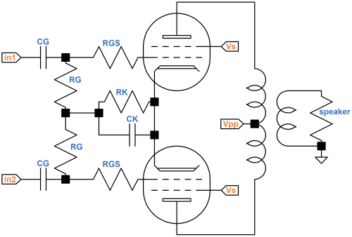 small resolution of push pull output transformer net current